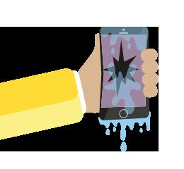 Schade aan je smartphone?