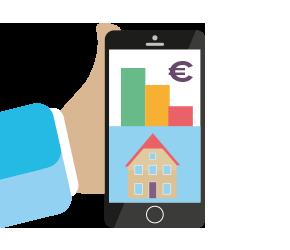 Lagere hypotheek door telefoon op afbetaling